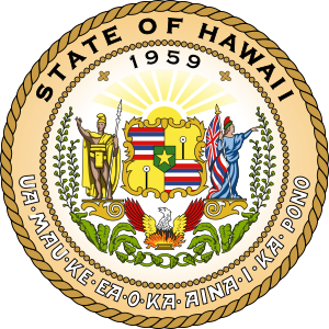 Hawaii seal and