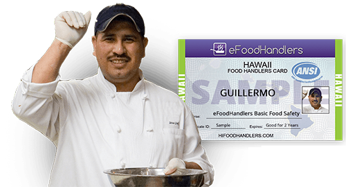 Hawaii Food Handlers Card